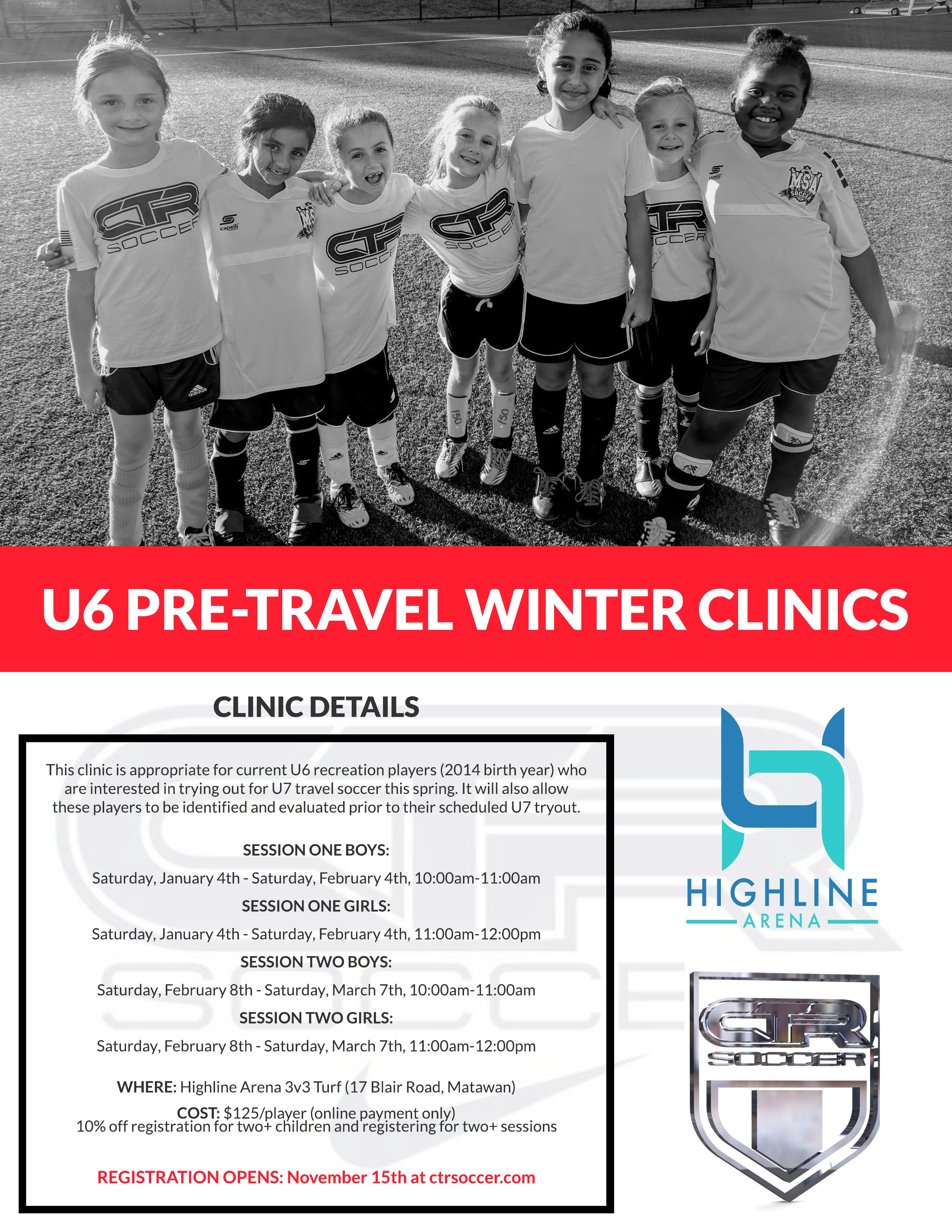 U6 Pre-Travel Winter Clinic