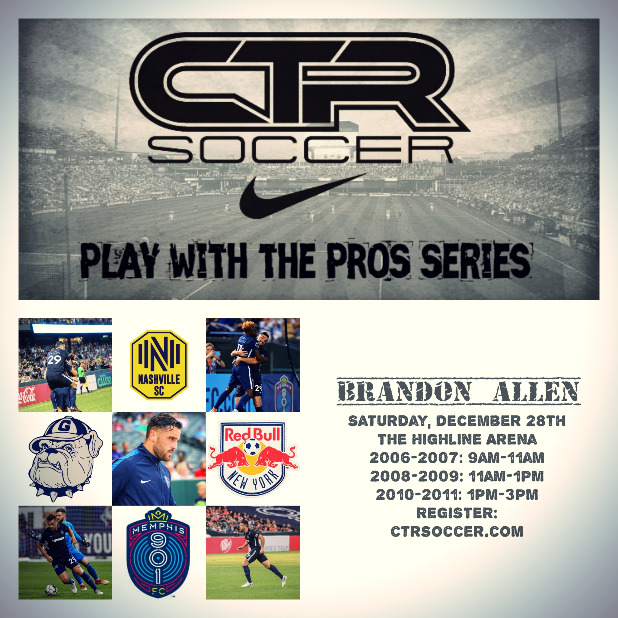 Play with the Pros Series: Brandon Allen One-Day Clinic